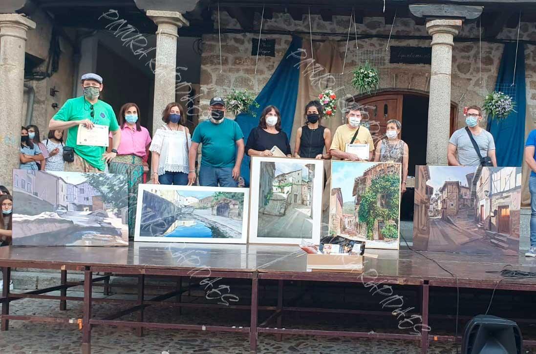 Fallo concurso pintura rápida San Esteban de la Sierra (Salamanca) 2021