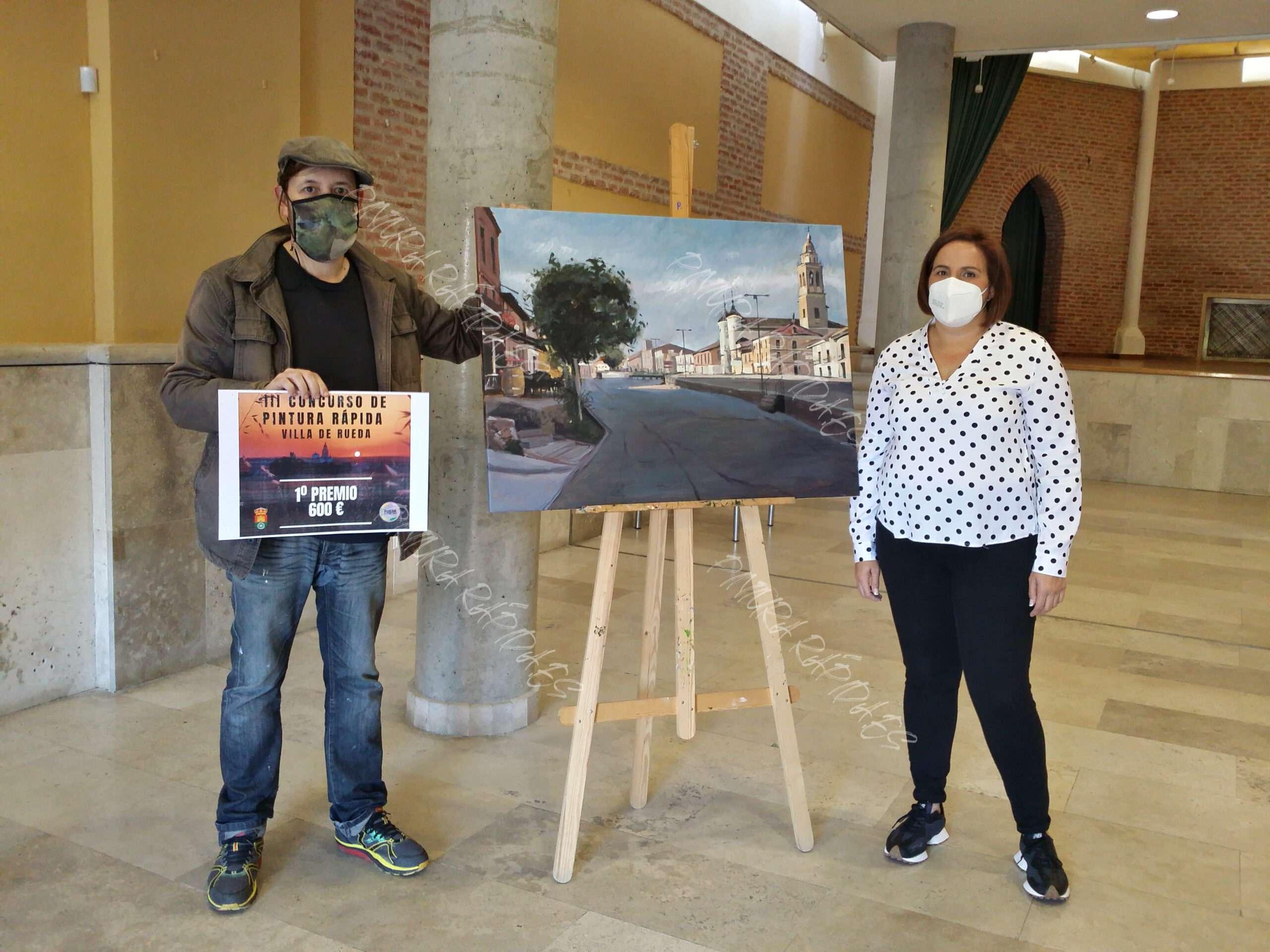 1-premio-concurso-de-pintura-rápida-de-Rueda-2021