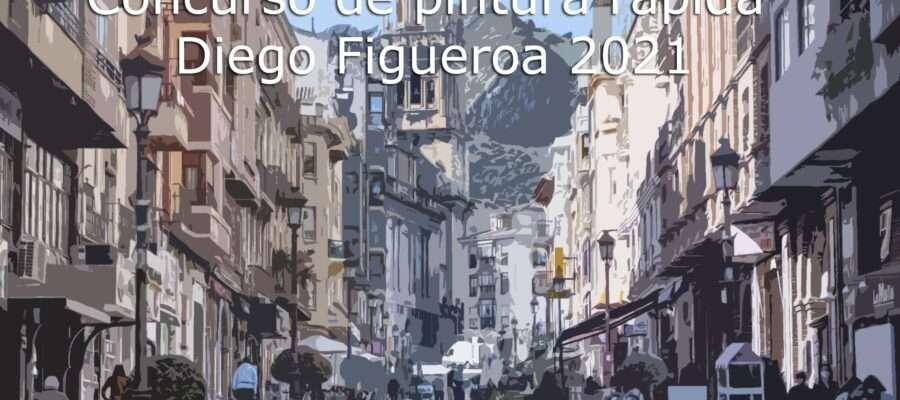 Concurso de pintura rápida Diego Figueroa 2021